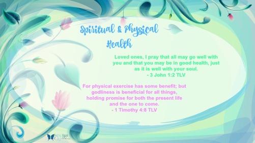 Spiritual Physical health